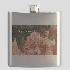 Bryce Canyon, Utah 3 (caption) Flask