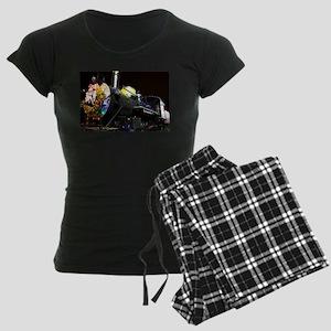 Christmas Train Women's Dark Pajamas