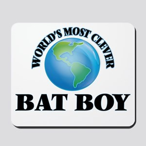 World's Most Clever Bat Boy Mousepad