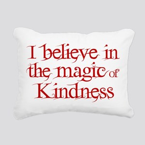 Magic of Kindness Rectangular Canvas Pillow