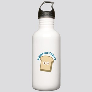 bread warm and toasty Water Bottle