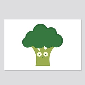 broccoli base Postcards (Package of 8)
