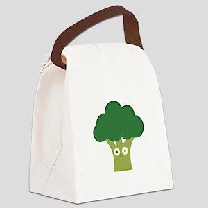 broccoli base Canvas Lunch Bag