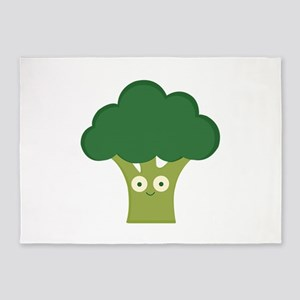 broccoli base 5'x7'Area Rug