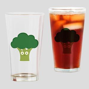 broccoli base Drinking Glass