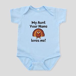 My Aunt Loves Me Turkey Body Suit