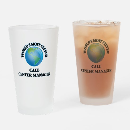World's Most Clever Call Center Man Drinking Glass