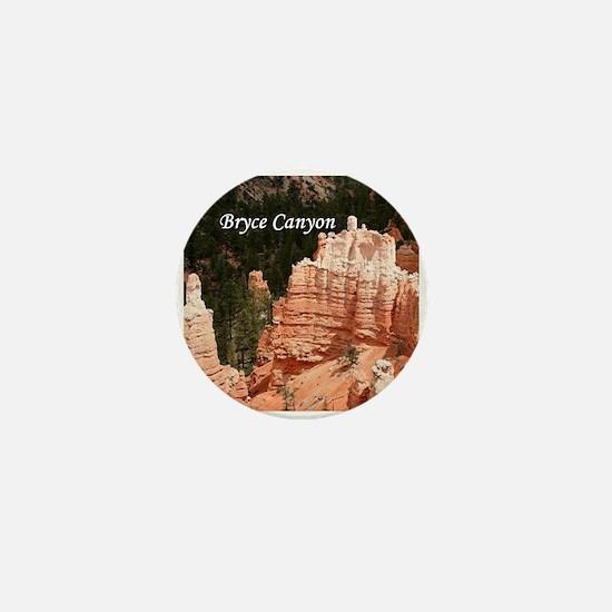 Bryce Canyon, Utah 3 (caption) Mini Button