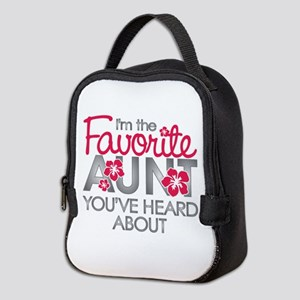 Favorite Aunt Neoprene Lunch Bag