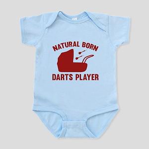 Natural Born Darts Player Infant Bodysuit