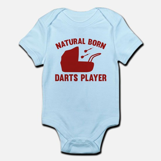 Natural Born Darts Player Infant Bodysuit