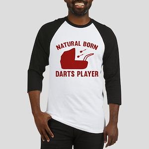 Natural Born Darts Player Baseball Jersey