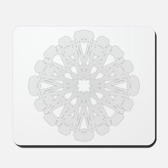 Winter Flake II Mousepad