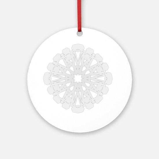 Winter Flake II Ornament (Round)