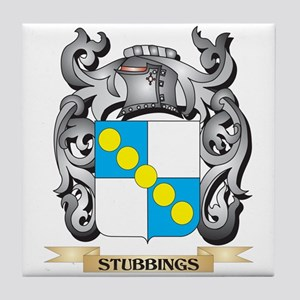 Stubbings Coat of Arms - Family Crest Tile Coaster