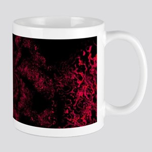 Red Fire Dragonfly Mugs