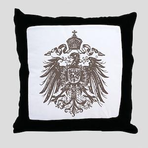 German Imperial Eagle Throw Pillow