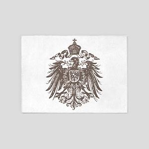 German Imperial Eagle 5'x7'Area Rug