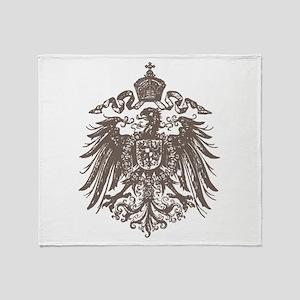 German Imperial Eagle Throw Blanket