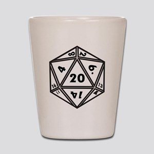 d20 Shot Glass