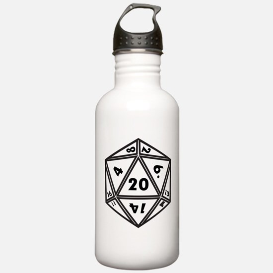 d20 Water Bottle