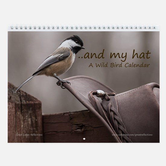 Wild Bird Wall Calendar