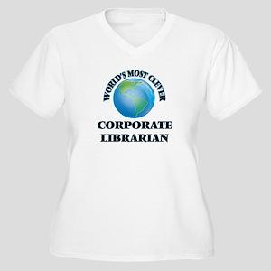 World's Most Clever Corporate Li Plus Size T-Shirt