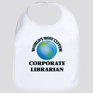World's Most Clever Corporate Librarian Bib