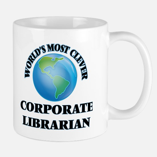 World's Most Clever Corporate Librarian Mugs