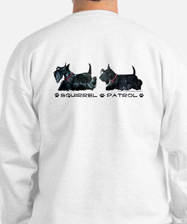 Scottie Squirrel Patrol Sweatshirt