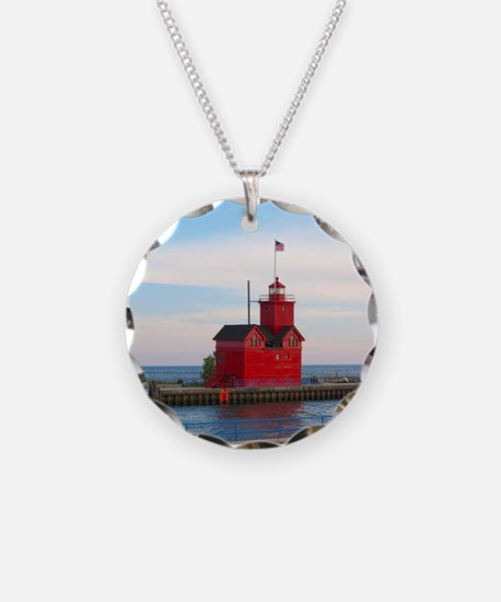 Holland Harbor Lighthouse Necklace
