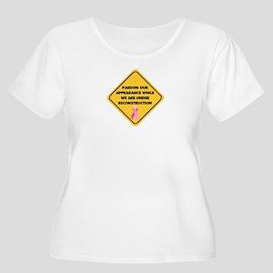PrdnAppcTransprnt Plus Size T-Shirt