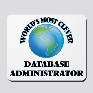 World's Most Clever Database Administrat Mousepad
