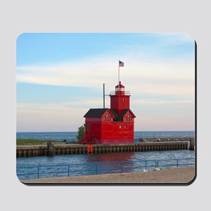 Holland Harbor Lighthouse Mousepad
