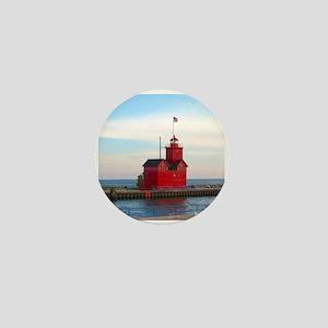 Holland Harbor Lighthouse Mini Button