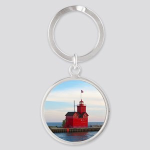 Holland Harbor Lighthouse Keychains