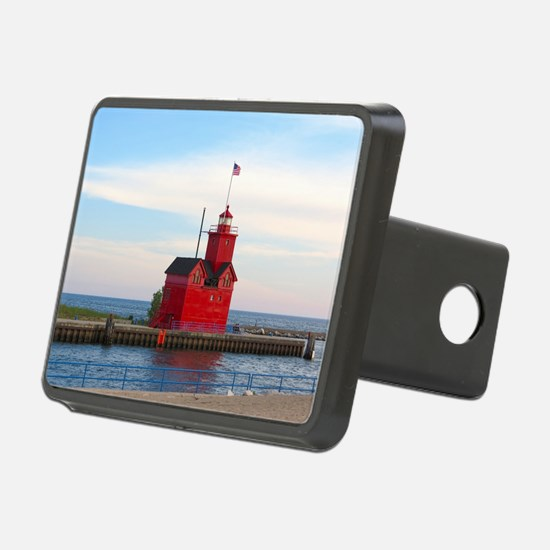 Holland Harbor Lighthouse Hitch Cover