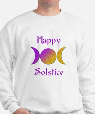 Happy Solstice 4 Sweatshirt