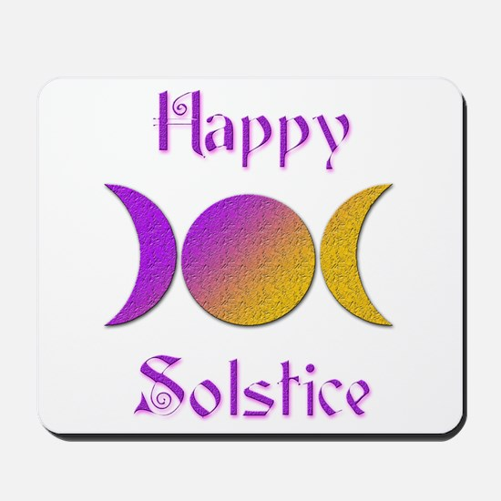 Happy Solstice 4 Mousepad