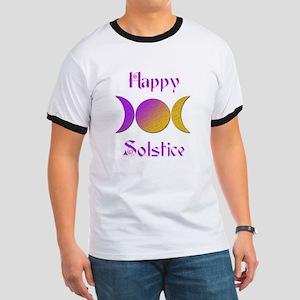 Happy Solstice 4 Ringer T