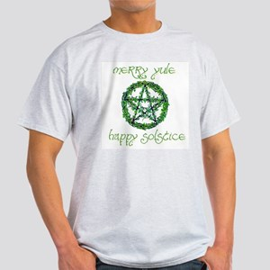 Merry Yule green 2 Light T-Shirt