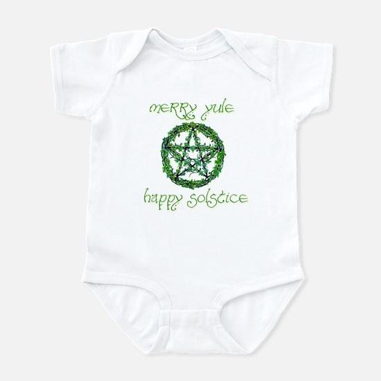 Merry Yule green 2 Infant Bodysuit