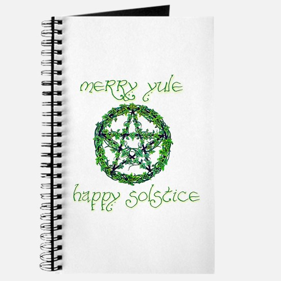 Merry Yule green 2 Journal