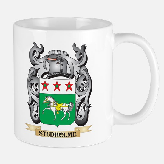 Studholme Coat of Arms - Family Crest Mugs