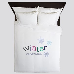 Winter Wonderland Queen Duvet