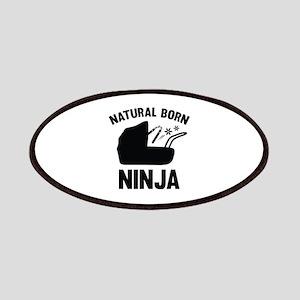 Natural Born Ninja Patches