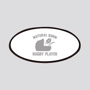Natural Born Rugby Player Patches