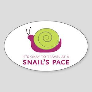 Snails Pace Sticker
