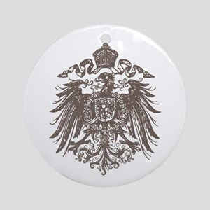 German Imperial Eagle Round Ornament
