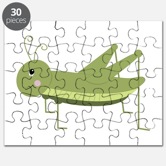 Green Grasshopper Puzzle